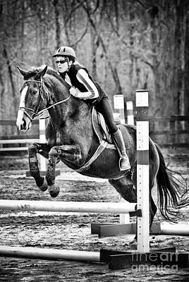 Show Horse Jumping  Poster by Jt PhotoDesign