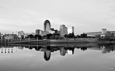 Shreveport Cityscape Poster by Scott Pellegrin