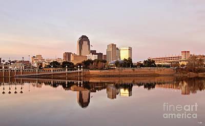 Shreveport Sunrise Poster