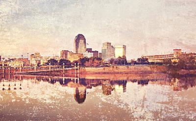 Shreveport Waterfront Poster