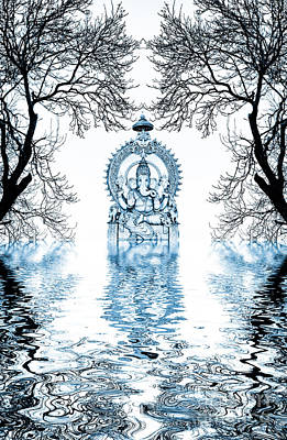 Shri Ganapati Deva Poster by Tim Gainey