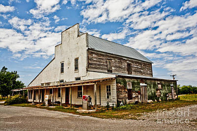Shriver's General Store Poster by Pattie Calfy