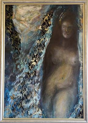 Shrouded In Mystery By Mihaela Ghit Poster by Mihaela Ghit