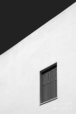 Shuttered Window Poster by Rod McLean