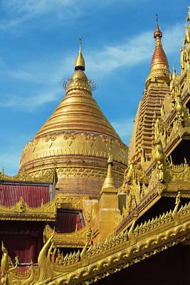 Shwezigon Pagoda, Bagan, Mandalay Poster