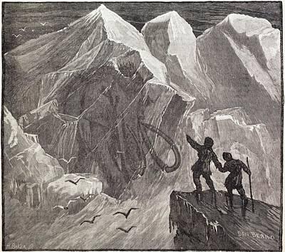 Siberian Frozen Mammoth Poster by Paul D Stewart