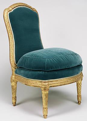 Side Chair Chaise à La Reine Jean Boucault Poster by Litz Collection