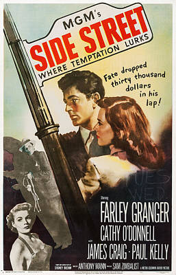 Side Street, Top From Left Farley Poster