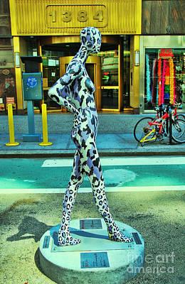 Sidewalk Catwalk 7 Poster by Allen Beatty