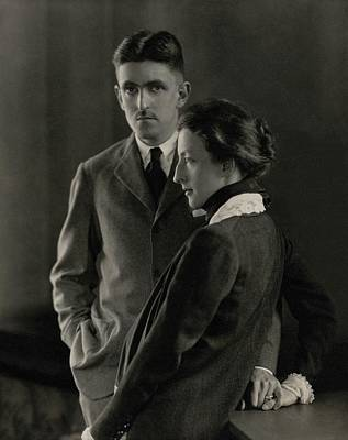 Sidney Howard And Clare Eames Poster by Edward Steichen