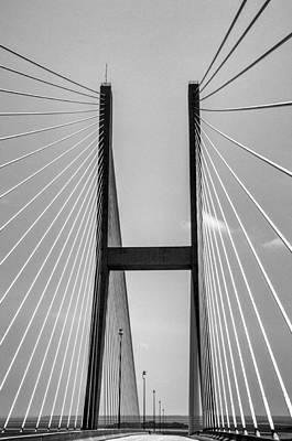 Sidney Lanier Bridge Poster by Ginger Wakem