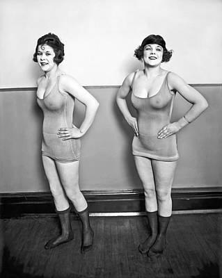 Sidney Lust Chorus Girls Poster