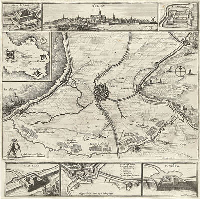Siege And Conquest Of Hulst By The Military Forces Poster