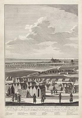 Siege Of Haarlem, 1572-1573 Left Page Poster