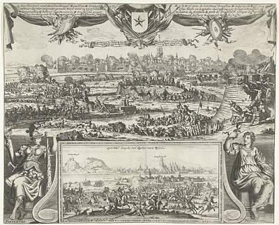 Siege Of Maastricht By Louis Xiv, 1673, Gaspar Bouttats Poster by Gaspar Bouttats