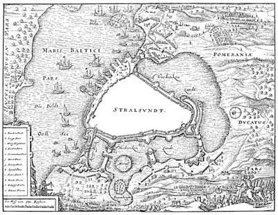Siege Of Stralsund, 1628 Poster