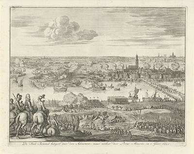 Siege Of Zaltbommel The Netherlands By Mendoza Poster