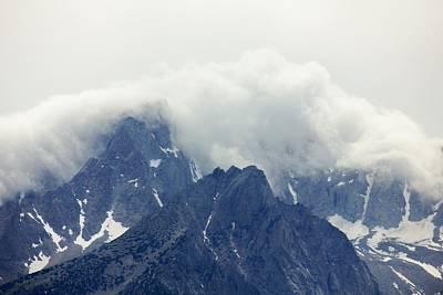 Sierra Clouds Poster