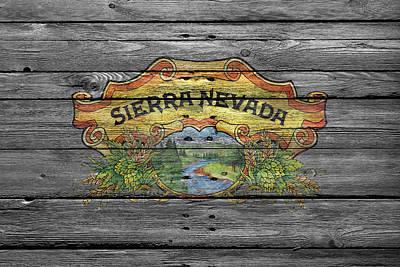 Sierra Nevada Poster by Joe Hamilton