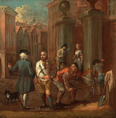 Sign For A Paviour, William Hogarth, 1697-1764 Poster