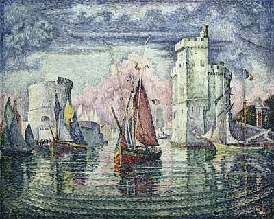 Signac, Paul 1863-1935. The Port At La Poster