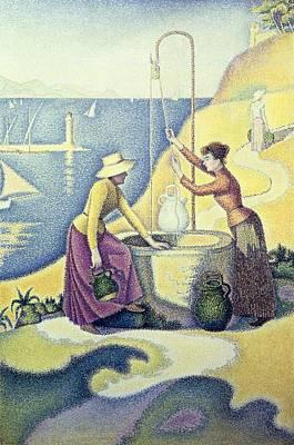 Signac, Paul 1863-1935. Women Poster