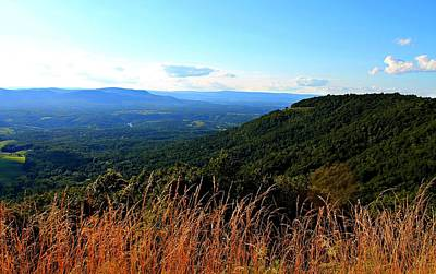 Poster featuring the photograph Signal Knob Overlook by Candice Trimble
