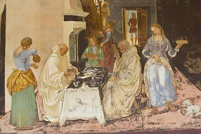 Signorelli, Luca 1445-1523. Life Of St Poster