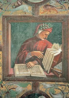 Signorelli Luca, Dante Alighieri, 1499 Poster by Everett