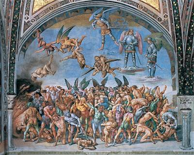 Signorelli Luca, The Last Judgment. The Poster by Everett