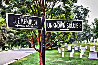 Signs Of Arlington Poster