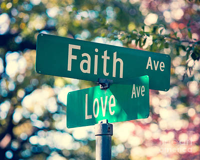 Signs Of Faith And Love Poster