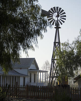 Sikes Windmill Poster