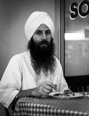 Sikh And Souvlaki Poster by Paul Haist