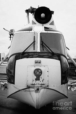 Sikorsky Hh52 Hh 52 Sea Guardian Helicopter On Display Poster by Joe Fox