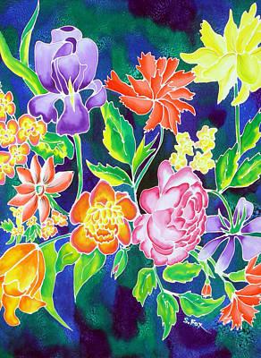 Silk Floral 1 Poster