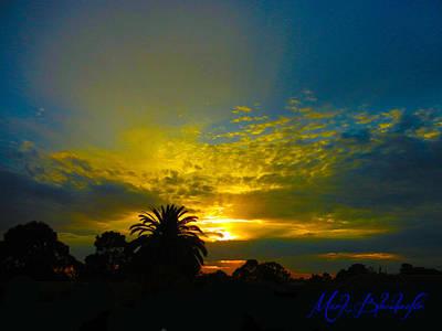 Silken Sunset Poster