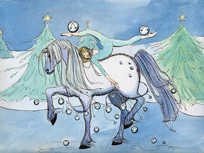 Silver Belles Poster by Katherine Miller