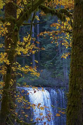 Silverton Falls Oregon Poster