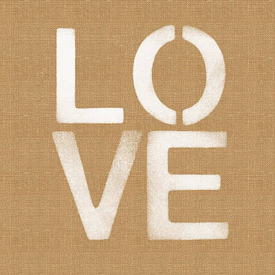 Simple Love Poster by Linda Woods
