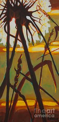 Poster featuring the painting Simplicity Of Light by Janet McDonald