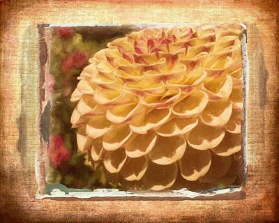 Simply Moments - Flower Art Poster by Jordan Blackstone