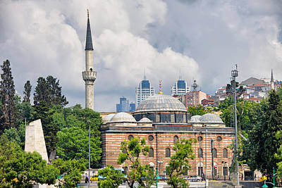 Sinan Pasha Mosque In Istanbul Poster