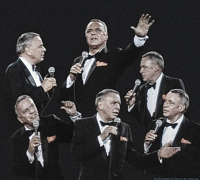 Sinatra In Concert Poster