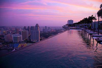 Singapore, Marina Bay Sands Hotel Poster