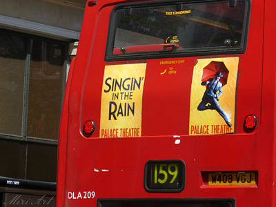 Singin' In The Rain Poster by Miriam Shaw
