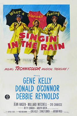 Singin In The Rain Poster by Georgia Fowler