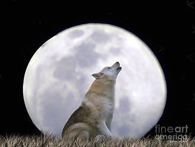 Singing Moon Poster