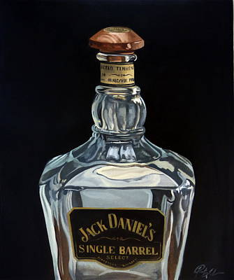 Single Barrel Jack Daniel's Poster