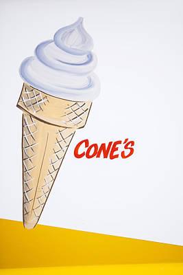 Single Cone Poster